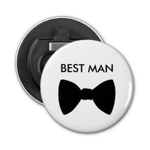 Classic Best Man Bowtie Wedding Bottle Opener