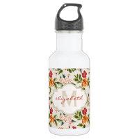 Monogram Vintage Water Bottle