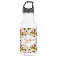 Monogram Vintage Water Bottle