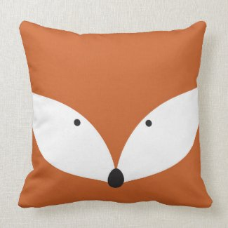 Clever Fox Cushion