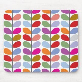 Leaf Pattern Mouse Mat