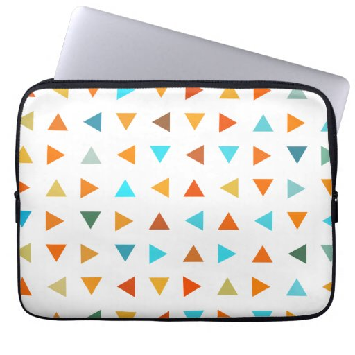 Colourful Triangles Laptop Sleeve