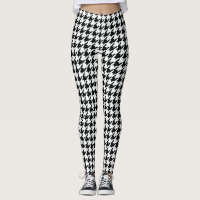 Checkered Pattern Leggings