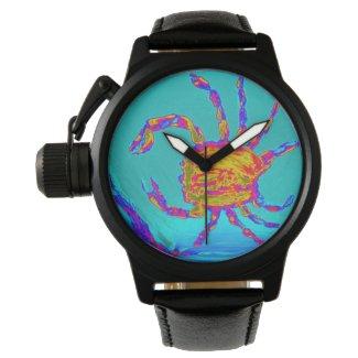 Cool Crab Undersea Art