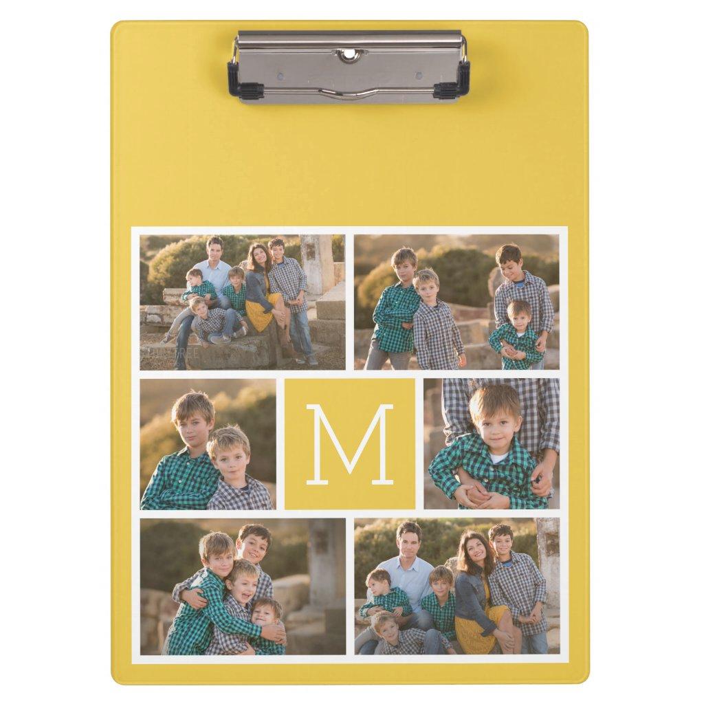 Create a Custom Photo Collage Clipboard