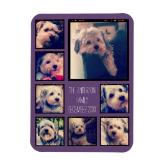 Create a Photo Collage Magnet