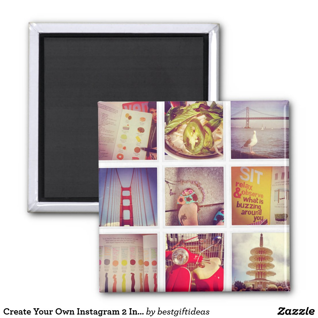 Create Your Own Instagram Magnet