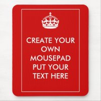 Create Your Own Mouse Pad | Zazzle