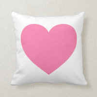 PINK HEART PILLOWS