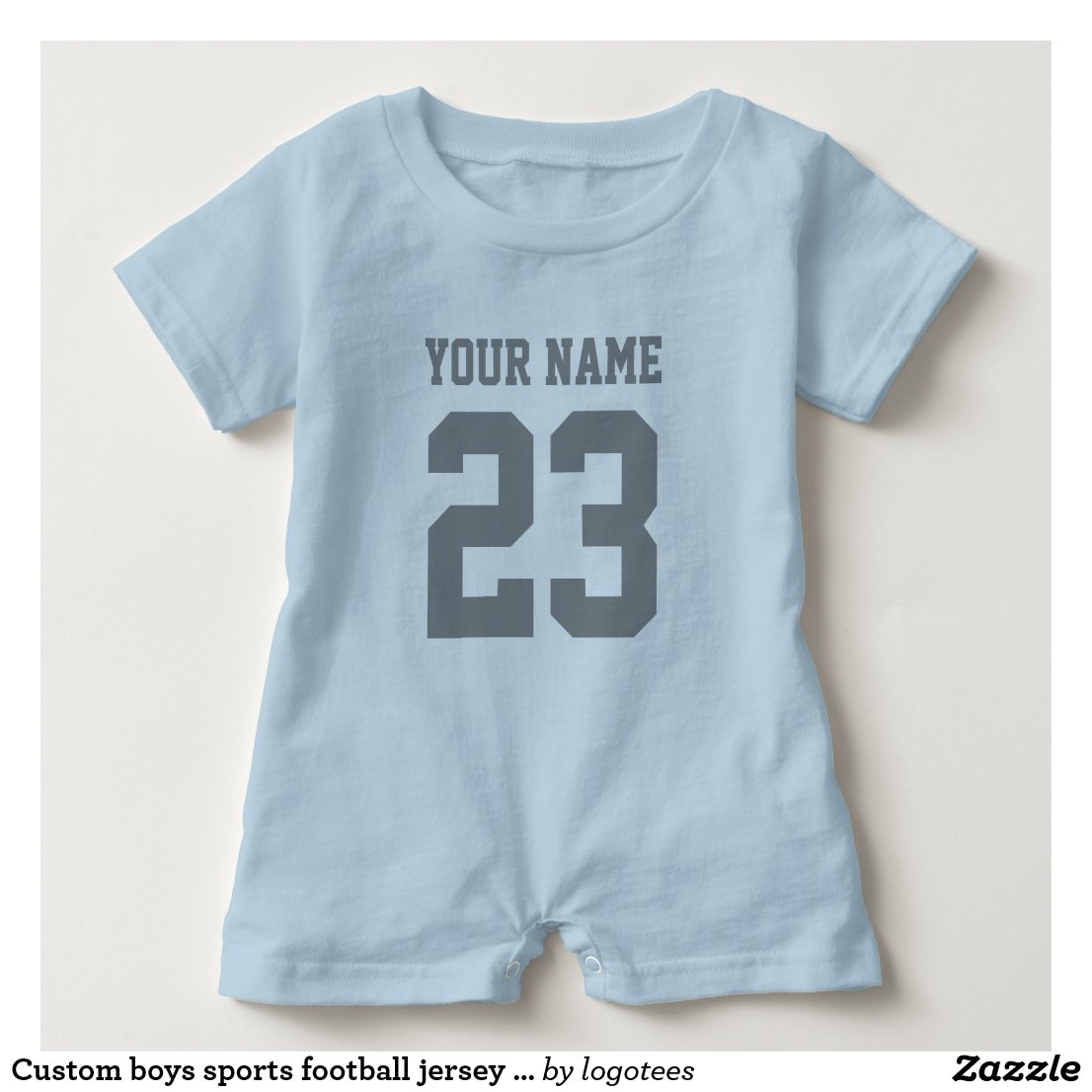 Custom  jersey bodysuit