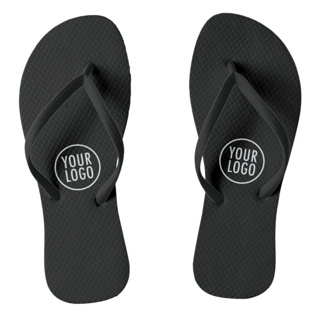 Custom Flip Flops with Logo Branding Promotional