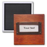 Customisable file cabinet label | Zazzle