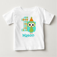 Customizable Owl T-Shirt