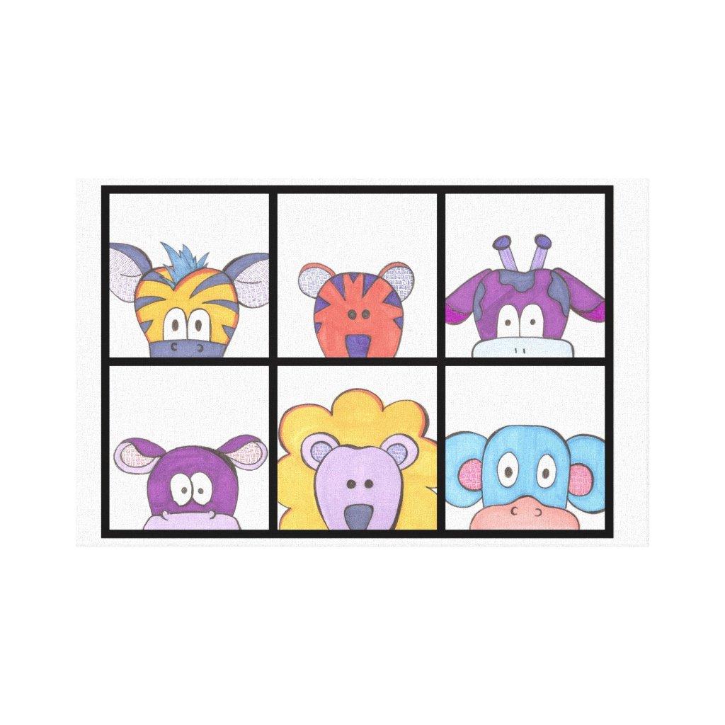 Cute Animal Wall Art
