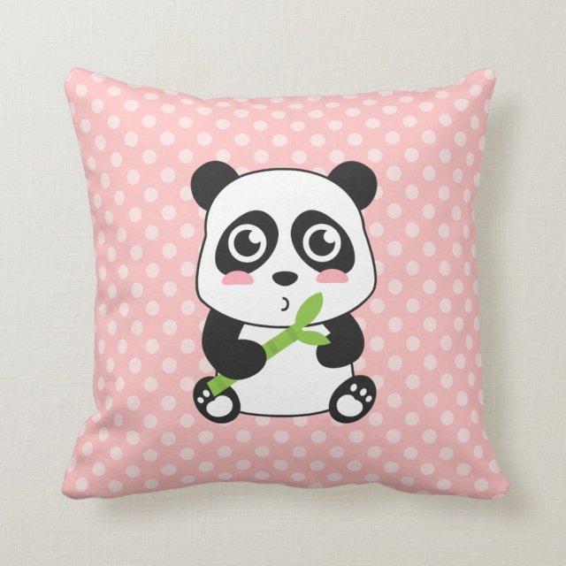 Baby Panda Cushion