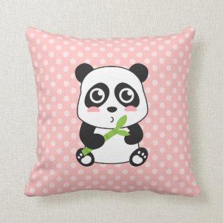 Cute Cartoon Baby Panda Cushion