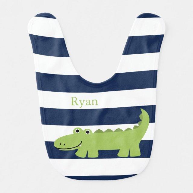 Alligator Bib