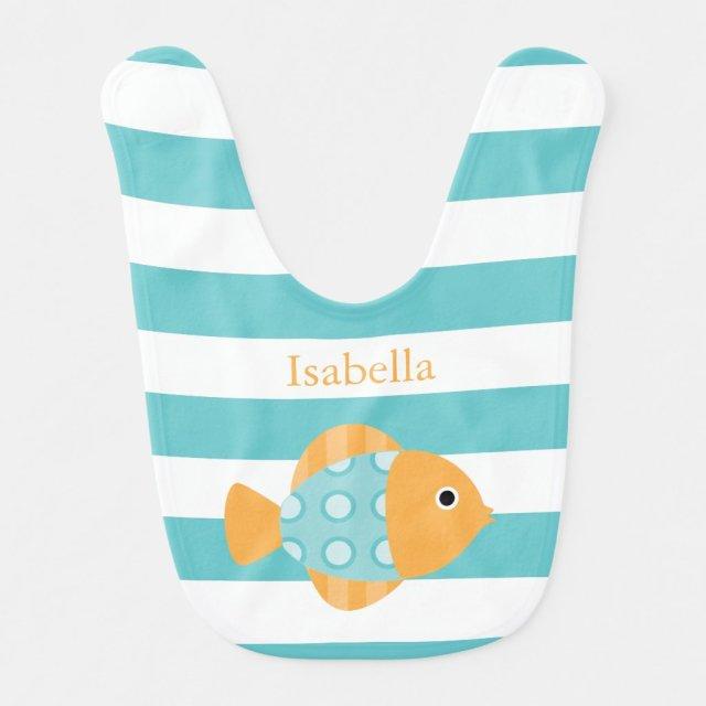 Cute Fish Bib