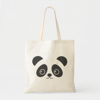 Cute panda bag for life