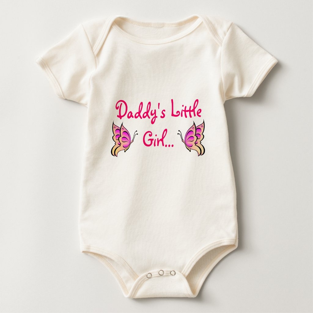 Daddy's Little Girl Bodysuit