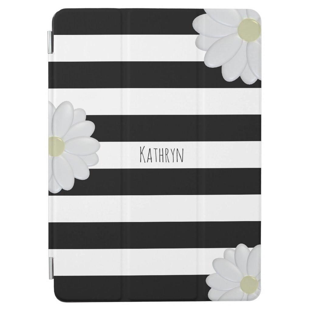 Daisy Trendy Striped iPad Cover