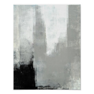 grey abstract posters prints