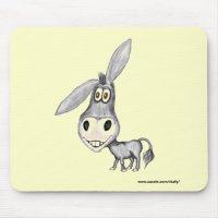 donkey funny mousepad | Zazzle.co.uk