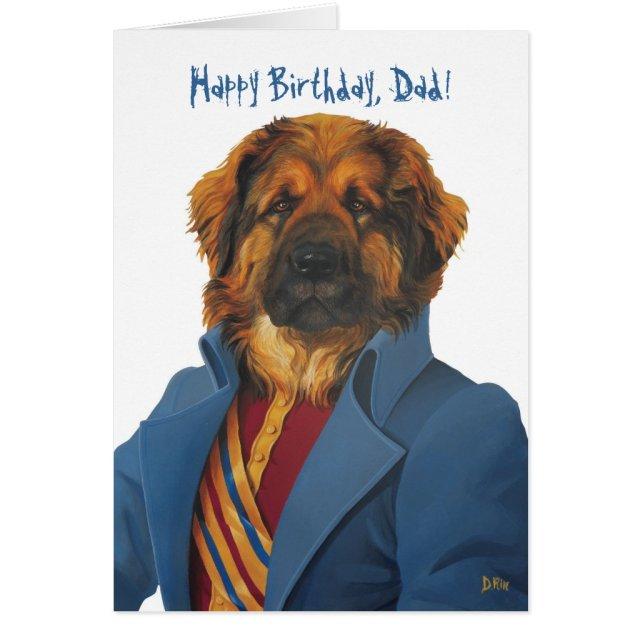 DR066 leonberger, Happy Birthday, Dad!