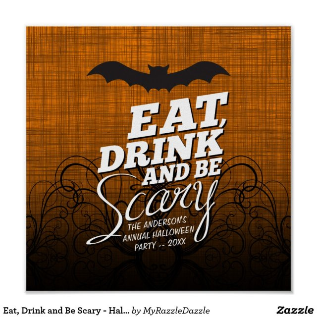 Eat, Drink and Be Scary - Halloween Party