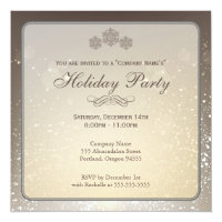 Elegant Holiday Party Company Invitation