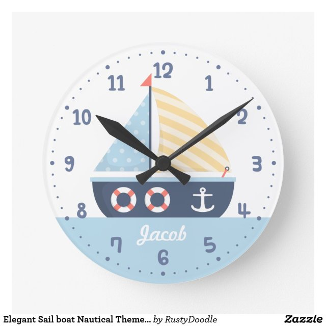 Personalised Nautical Clock