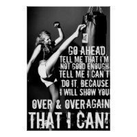 Fitness Motivation Poster