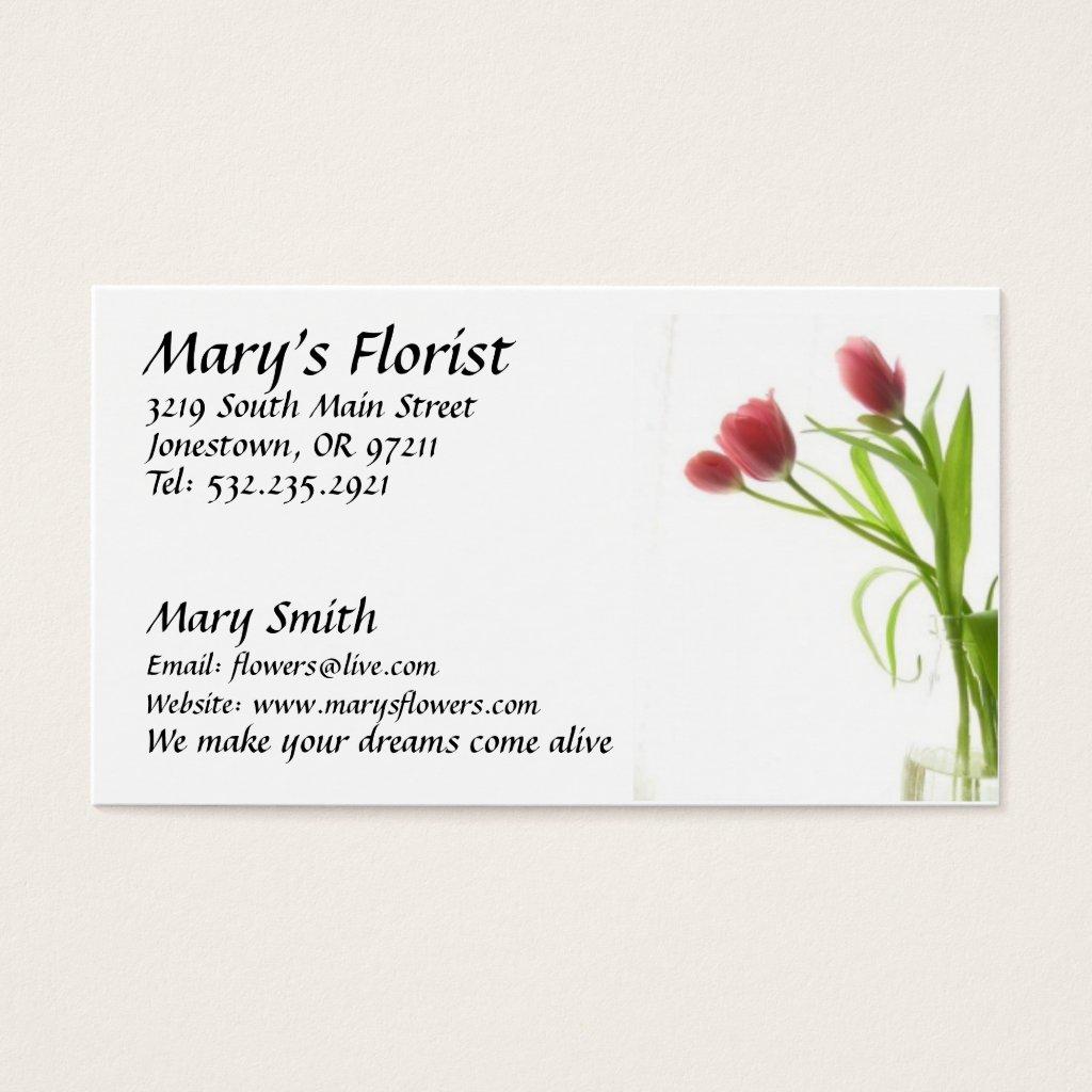 flower business cards - Romeo.landinez.co