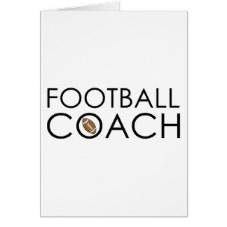 Football Coach Cards, Photo Card Templates, Invitations & More