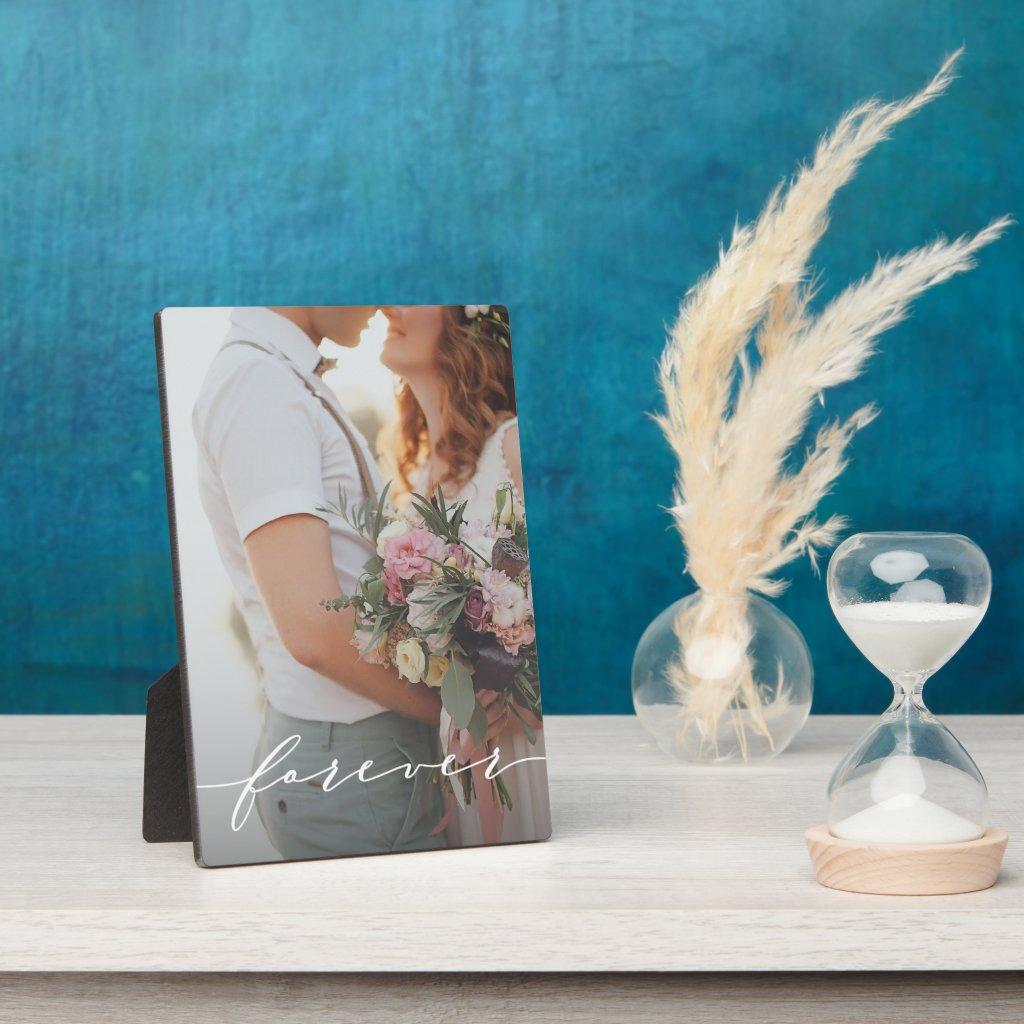 Forever Photo Plaque