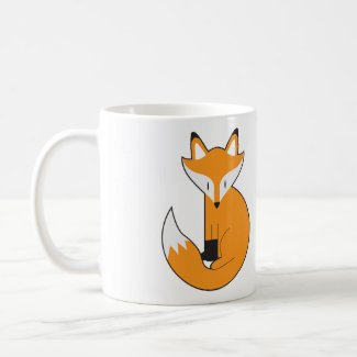 Fox And Tea Mug - N.1