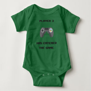 Funny Baby Clothes - Little Gamer Baby Bodysuit