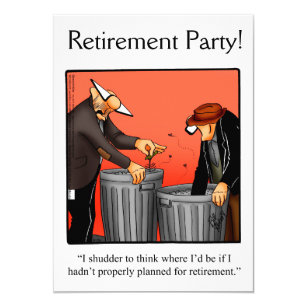 funny retirement humor party