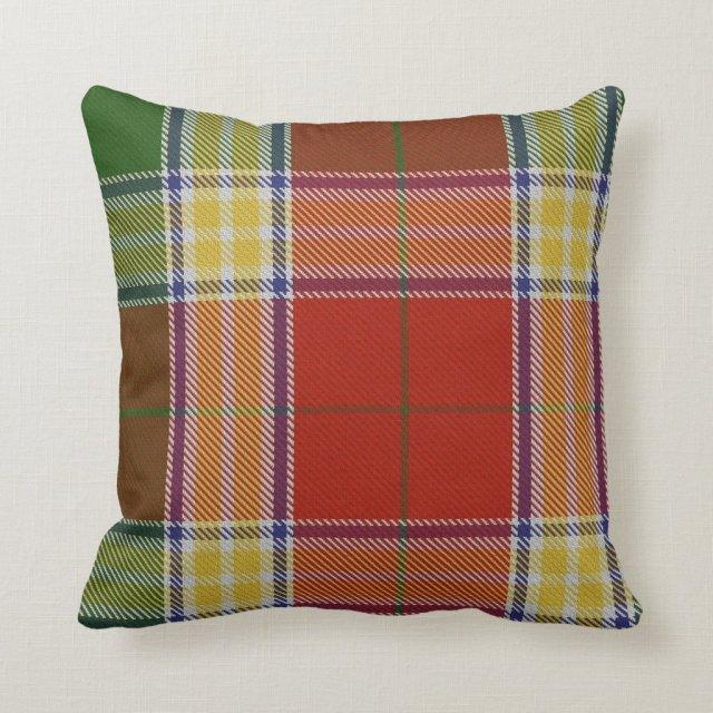 Gibbs/Gibson Tartan Pillow