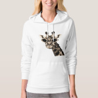 Giraffe With Steampunk Sunglasses Goggles Sweatshirt