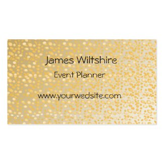 Gold dots design simple text layout customize-able