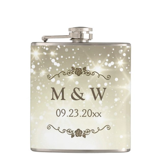 Gold Glitter Sparkles Wedding