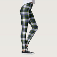 Gordon Dress Tartan Plaid Leggings