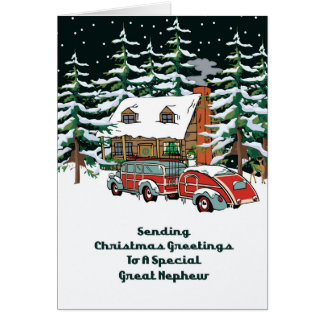 Christmas For Great Nephew Cards Photo Card Templates