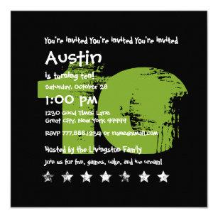 10 Year Old Birthday Invitations Zazzle UK
