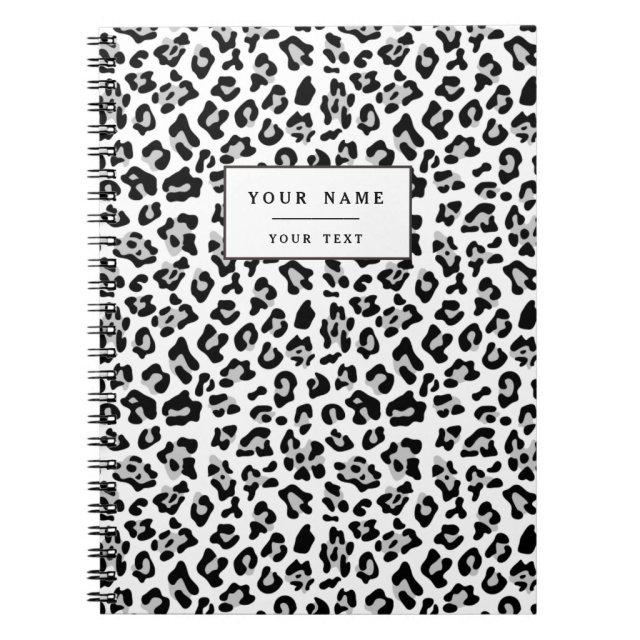 Leopard Animal Print Notebook
