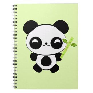 Happy Baby Panda Notebook