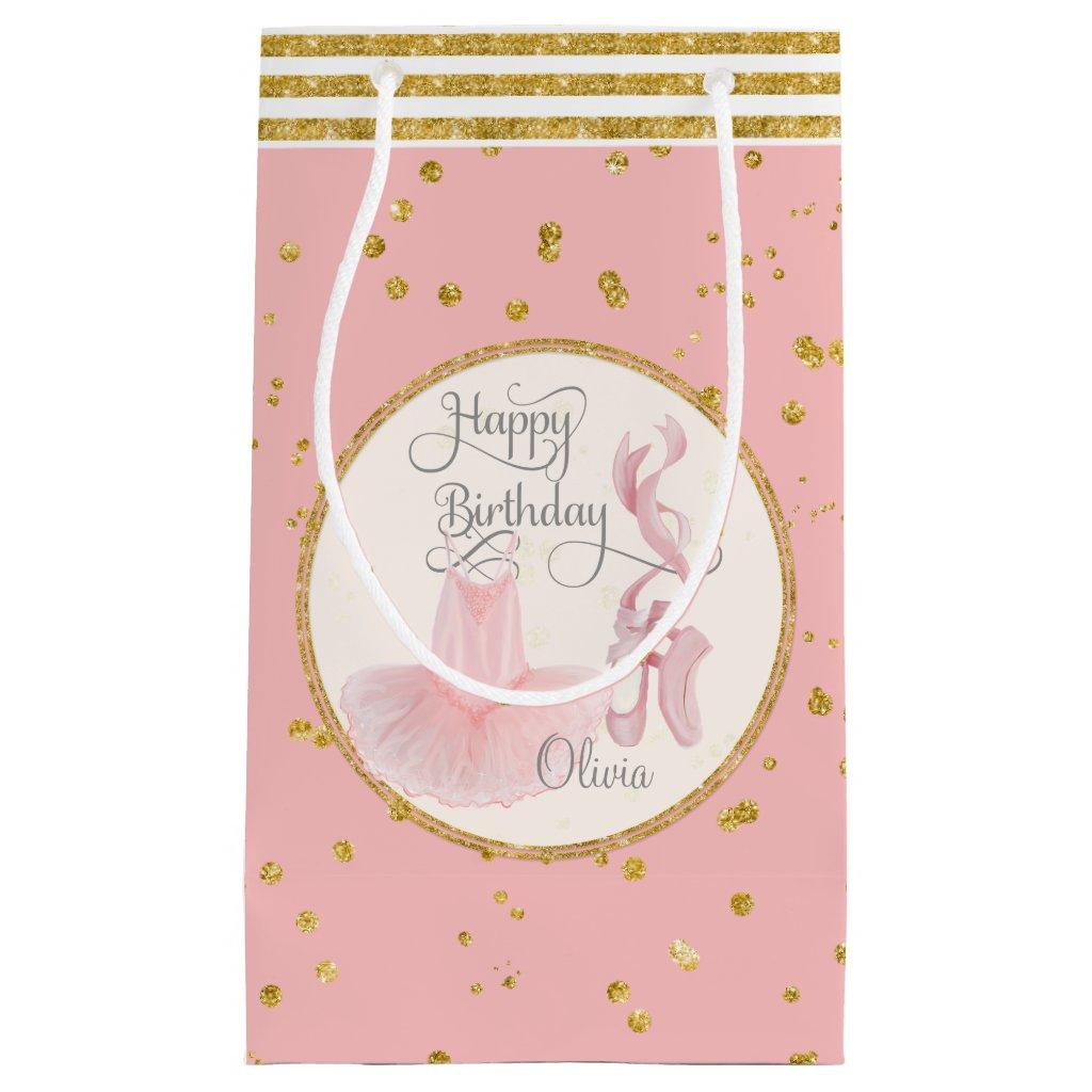 Happy Birthday Little Girl Gift Bag