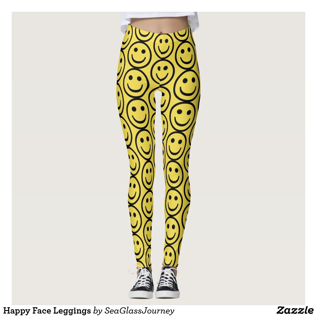 Happy Face Leggings