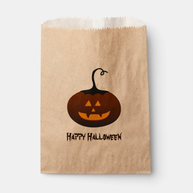 Happy Halloween Favour Bags